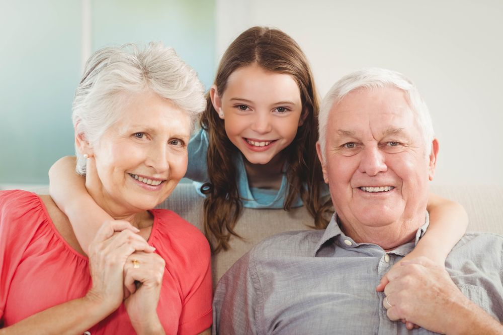 Grandparents and Granddaughter Story